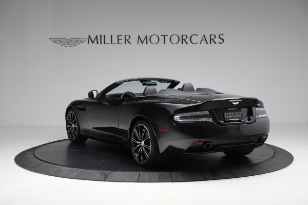 Used 2015 Aston Martin DB9 Convertible for sale Sold at Rolls-Royce Motor Cars Greenwich in Greenwich CT 06830 4