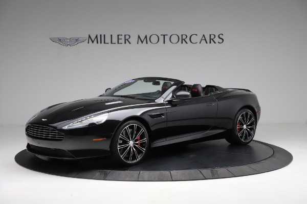 Used 2015 Aston Martin DB9 Convertible for sale Sold at Rolls-Royce Motor Cars Greenwich in Greenwich CT 06830 1