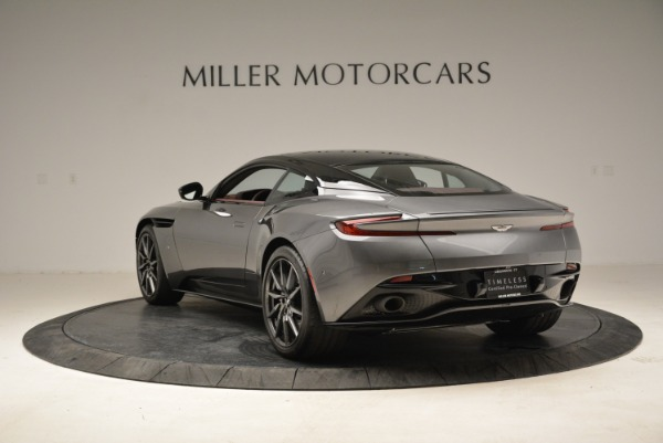 Used 2017 Aston Martin DB11 V12 Launch Edition for sale Sold at Rolls-Royce Motor Cars Greenwich in Greenwich CT 06830 5
