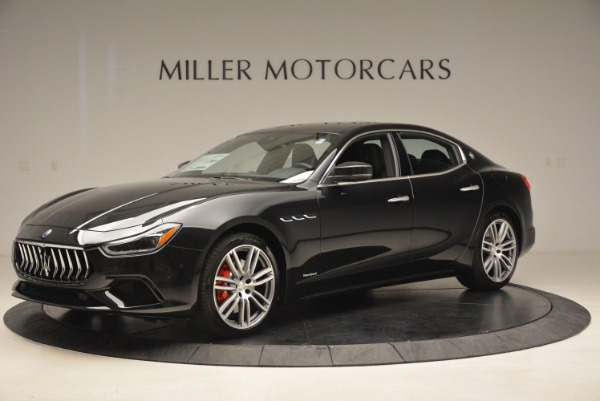 New 2018 Maserati Ghibli S Q4 GranLusso for sale Sold at Rolls-Royce Motor Cars Greenwich in Greenwich CT 06830 2