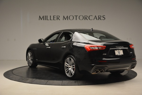 New 2018 Maserati Ghibli S Q4 GranLusso for sale Sold at Rolls-Royce Motor Cars Greenwich in Greenwich CT 06830 5