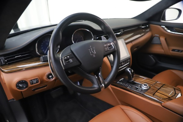 Used 2018 Maserati Quattroporte S Q4 GranLusso for sale $69,900 at Rolls-Royce Motor Cars Greenwich in Greenwich CT 06830 16