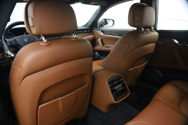 Used 2018 Maserati Quattroporte S Q4 GranLusso for sale $69,900 at Rolls-Royce Motor Cars Greenwich in Greenwich CT 06830 20