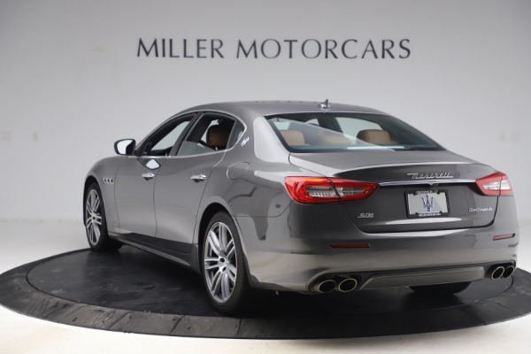 Used 2018 Maserati Quattroporte S Q4 GranLusso for sale $69,900 at Rolls-Royce Motor Cars Greenwich in Greenwich CT 06830 5
