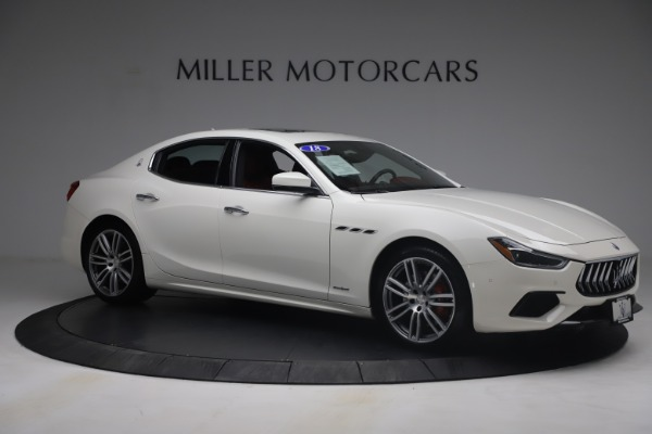 Used 2018 Maserati Ghibli S Q4 GranSport for sale Call for price at Rolls-Royce Motor Cars Greenwich in Greenwich CT 06830 10