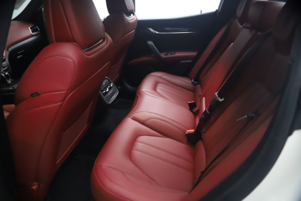 Used 2018 Maserati Ghibli S Q4 GranSport for sale Call for price at Rolls-Royce Motor Cars Greenwich in Greenwich CT 06830 19