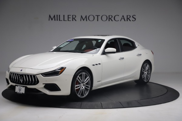 Used 2018 Maserati Ghibli S Q4 GranSport for sale Call for price at Rolls-Royce Motor Cars Greenwich in Greenwich CT 06830 2