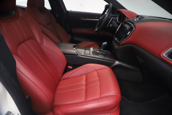 Used 2018 Maserati Ghibli S Q4 GranSport for sale Call for price at Rolls-Royce Motor Cars Greenwich in Greenwich CT 06830 23