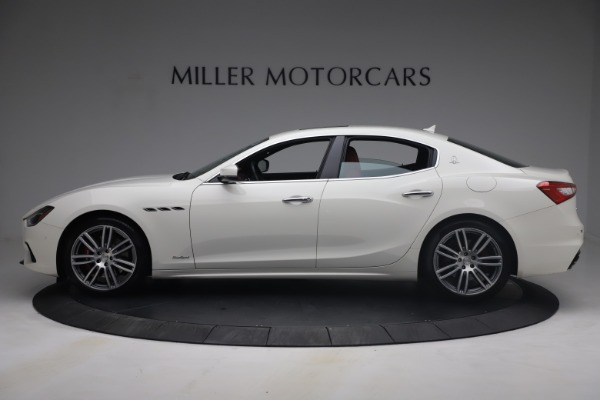 Used 2018 Maserati Ghibli S Q4 GranSport for sale Call for price at Rolls-Royce Motor Cars Greenwich in Greenwich CT 06830 3