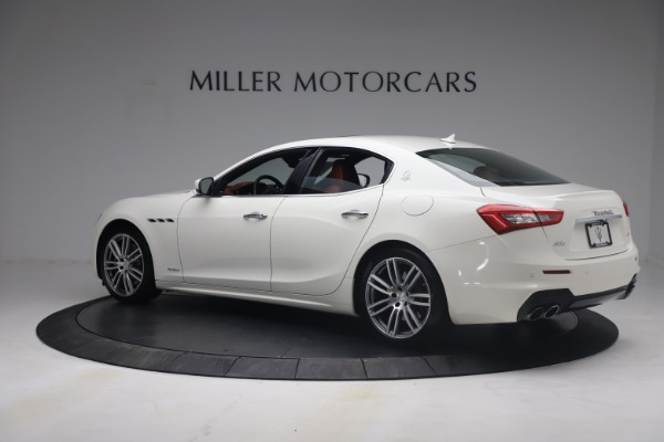 Used 2018 Maserati Ghibli S Q4 GranSport for sale Call for price at Rolls-Royce Motor Cars Greenwich in Greenwich CT 06830 4