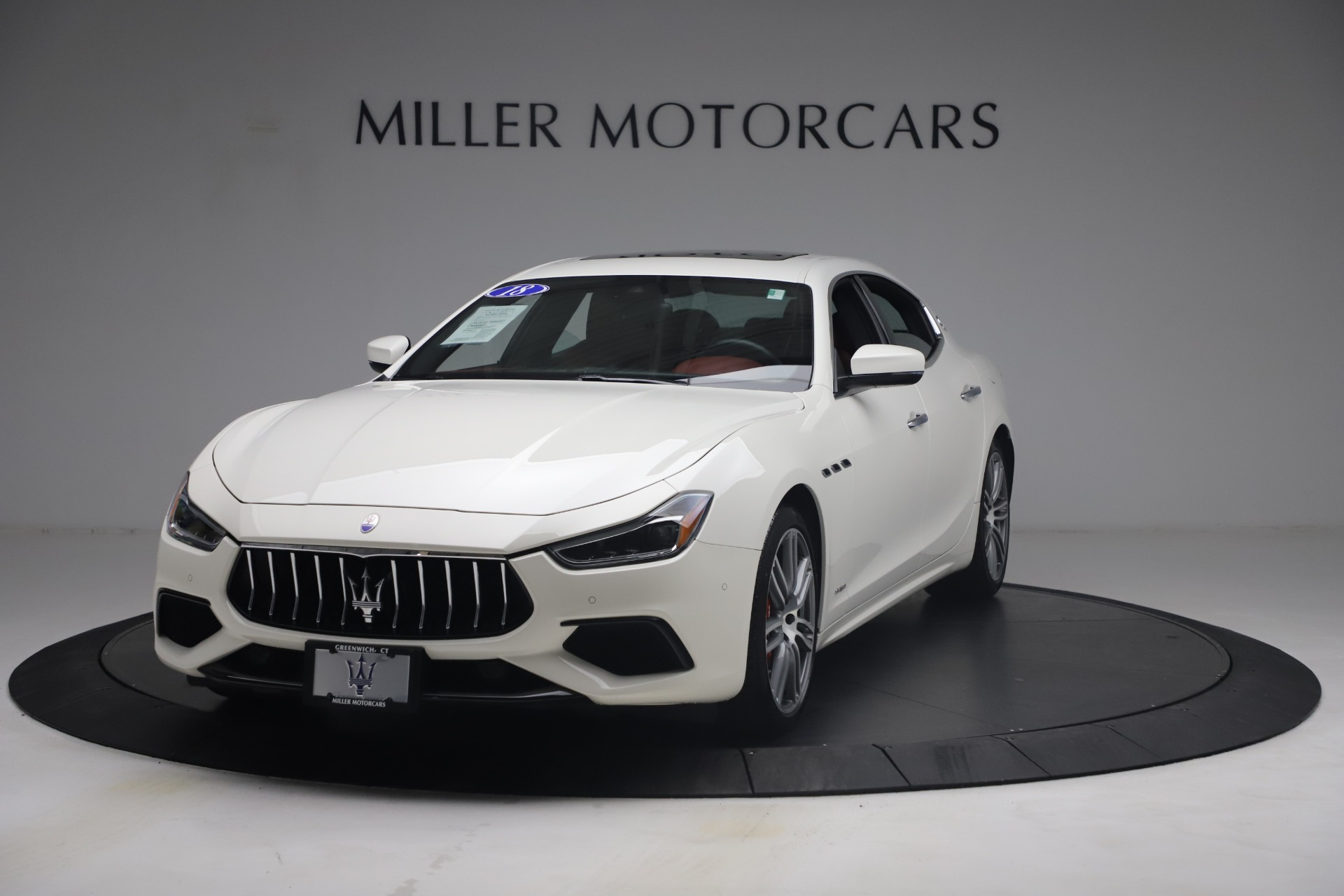 Used 2018 Maserati Ghibli S Q4 GranSport for sale Call for price at Rolls-Royce Motor Cars Greenwich in Greenwich CT 06830 1