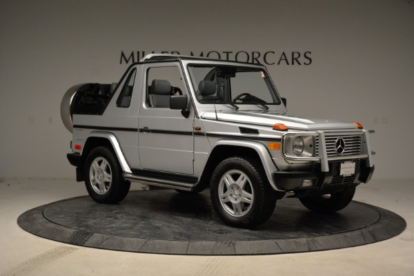 Used 1999 Mercedes Benz G500 Cabriolet for sale Sold at Rolls-Royce Motor Cars Greenwich in Greenwich CT 06830 10