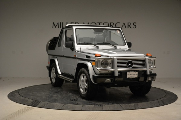 Used 1999 Mercedes Benz G500 Cabriolet for sale Sold at Rolls-Royce Motor Cars Greenwich in Greenwich CT 06830 11