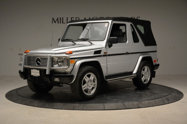 Used 1999 Mercedes Benz G500 Cabriolet for sale Sold at Rolls-Royce Motor Cars Greenwich in Greenwich CT 06830 13