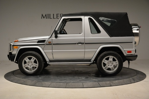 Used 1999 Mercedes Benz G500 Cabriolet for sale Sold at Rolls-Royce Motor Cars Greenwich in Greenwich CT 06830 14