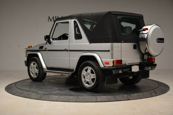 Used 1999 Mercedes Benz G500 Cabriolet for sale Sold at Rolls-Royce Motor Cars Greenwich in Greenwich CT 06830 15