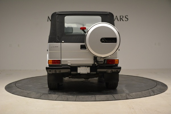 Used 1999 Mercedes Benz G500 Cabriolet for sale Sold at Rolls-Royce Motor Cars Greenwich in Greenwich CT 06830 16