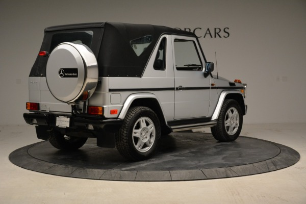 Used 1999 Mercedes Benz G500 Cabriolet for sale Sold at Rolls-Royce Motor Cars Greenwich in Greenwich CT 06830 17