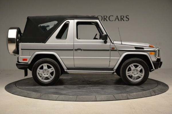 Used 1999 Mercedes Benz G500 Cabriolet for sale Sold at Rolls-Royce Motor Cars Greenwich in Greenwich CT 06830 18
