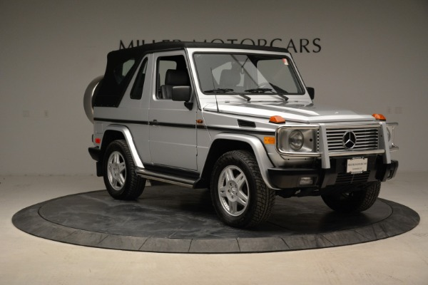 Used 1999 Mercedes Benz G500 Cabriolet for sale Sold at Rolls-Royce Motor Cars Greenwich in Greenwich CT 06830 19