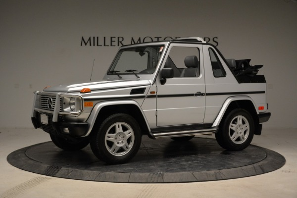 Used 1999 Mercedes Benz G500 Cabriolet for sale Sold at Rolls-Royce Motor Cars Greenwich in Greenwich CT 06830 2