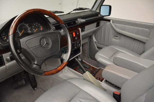 Used 1999 Mercedes Benz G500 Cabriolet for sale Sold at Rolls-Royce Motor Cars Greenwich in Greenwich CT 06830 22