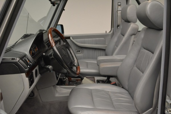 Used 1999 Mercedes Benz G500 Cabriolet for sale Sold at Rolls-Royce Motor Cars Greenwich in Greenwich CT 06830 23