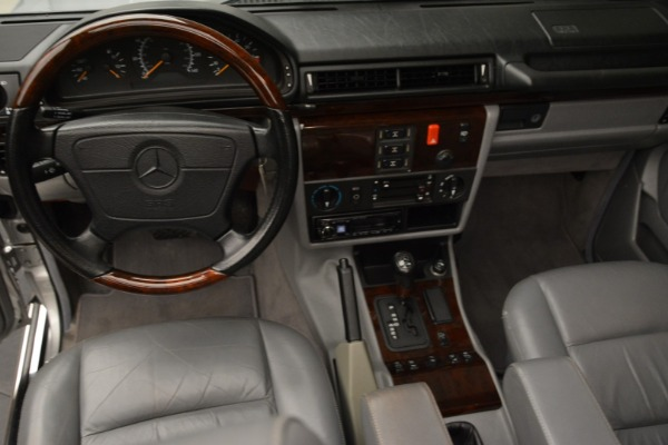 Used 1999 Mercedes Benz G500 Cabriolet for sale Sold at Rolls-Royce Motor Cars Greenwich in Greenwich CT 06830 25
