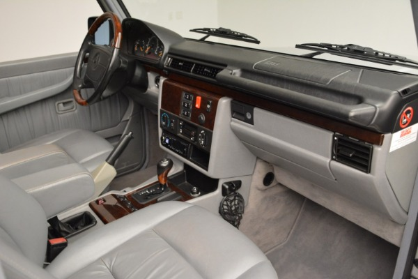 Used 1999 Mercedes Benz G500 Cabriolet for sale Sold at Rolls-Royce Motor Cars Greenwich in Greenwich CT 06830 26
