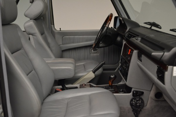 Used 1999 Mercedes Benz G500 Cabriolet for sale Sold at Rolls-Royce Motor Cars Greenwich in Greenwich CT 06830 27