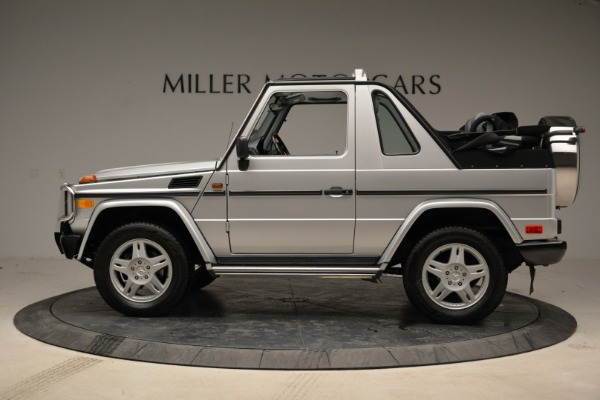 Used 1999 Mercedes Benz G500 Cabriolet for sale Sold at Rolls-Royce Motor Cars Greenwich in Greenwich CT 06830 3