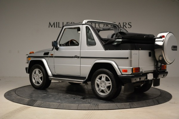 Used 1999 Mercedes Benz G500 Cabriolet for sale Sold at Rolls-Royce Motor Cars Greenwich in Greenwich CT 06830 4