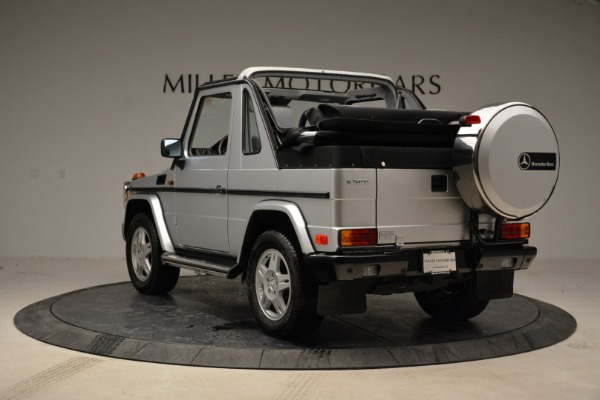 Used 1999 Mercedes Benz G500 Cabriolet for sale Sold at Rolls-Royce Motor Cars Greenwich in Greenwich CT 06830 5