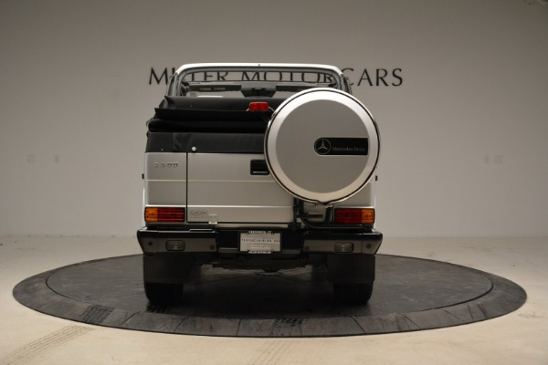 Used 1999 Mercedes Benz G500 Cabriolet for sale Sold at Rolls-Royce Motor Cars Greenwich in Greenwich CT 06830 6