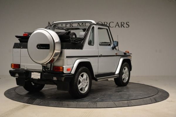Used 1999 Mercedes Benz G500 Cabriolet for sale Sold at Rolls-Royce Motor Cars Greenwich in Greenwich CT 06830 7