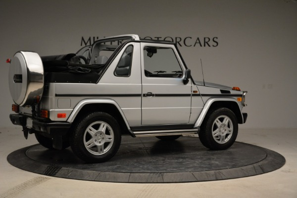 Used 1999 Mercedes Benz G500 Cabriolet for sale Sold at Rolls-Royce Motor Cars Greenwich in Greenwich CT 06830 8