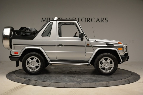 Used 1999 Mercedes Benz G500 Cabriolet for sale Sold at Rolls-Royce Motor Cars Greenwich in Greenwich CT 06830 9