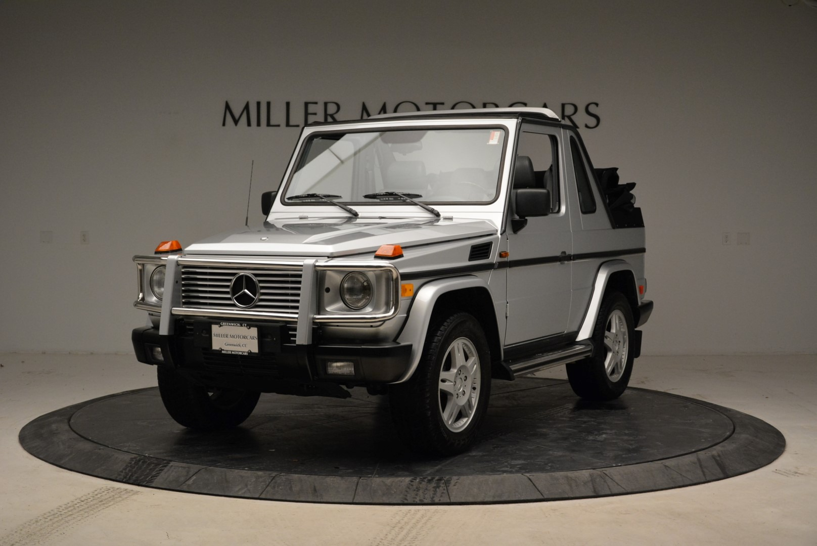 Used 1999 Mercedes Benz G500 Cabriolet for sale Sold at Rolls-Royce Motor Cars Greenwich in Greenwich CT 06830 1