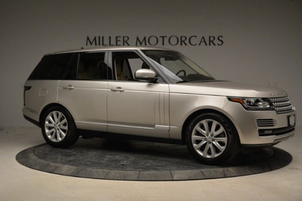 Used 2016 Land Rover Range Rover HSE for sale Sold at Rolls-Royce Motor Cars Greenwich in Greenwich CT 06830 10