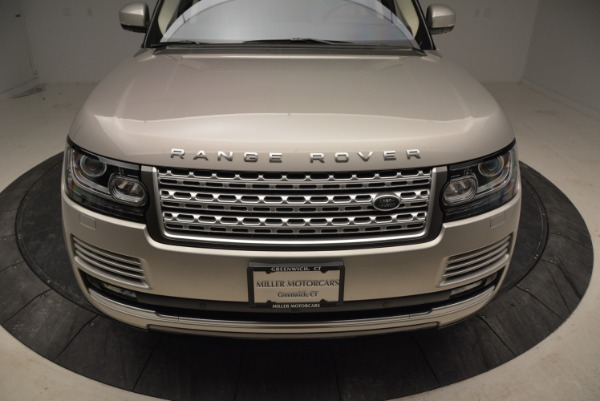 Used 2016 Land Rover Range Rover HSE for sale Sold at Rolls-Royce Motor Cars Greenwich in Greenwich CT 06830 13