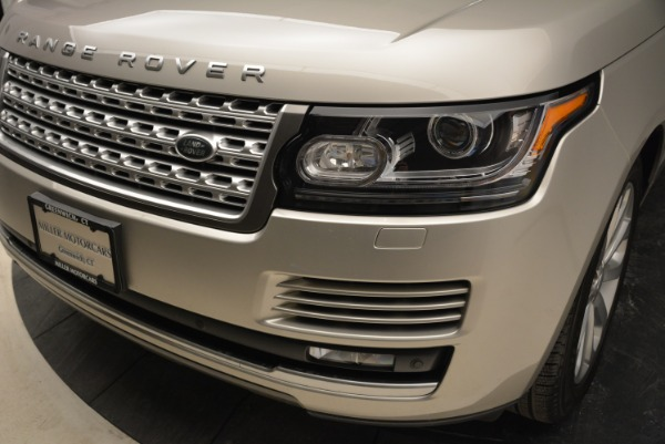 Used 2016 Land Rover Range Rover HSE for sale Sold at Rolls-Royce Motor Cars Greenwich in Greenwich CT 06830 14