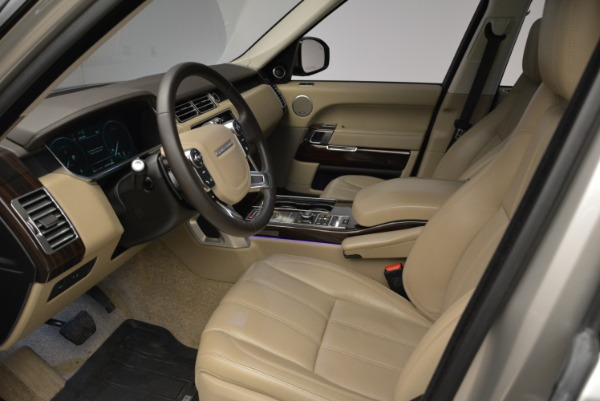 Used 2016 Land Rover Range Rover HSE for sale Sold at Rolls-Royce Motor Cars Greenwich in Greenwich CT 06830 17