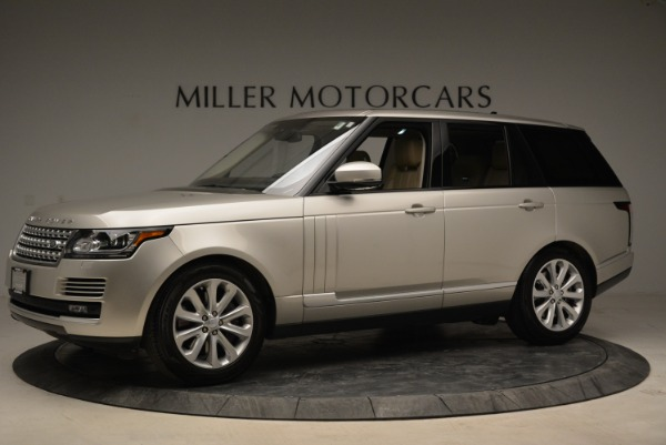 Used 2016 Land Rover Range Rover HSE for sale Sold at Rolls-Royce Motor Cars Greenwich in Greenwich CT 06830 2
