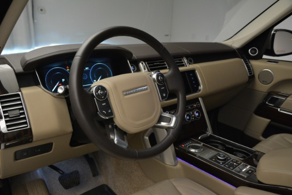 Used 2016 Land Rover Range Rover HSE for sale Sold at Rolls-Royce Motor Cars Greenwich in Greenwich CT 06830 20