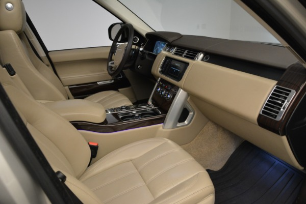 Used 2016 Land Rover Range Rover HSE for sale Sold at Rolls-Royce Motor Cars Greenwich in Greenwich CT 06830 27