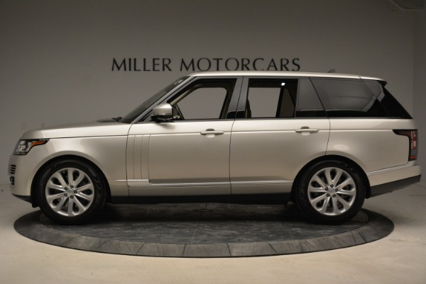 Used 2016 Land Rover Range Rover HSE for sale Sold at Rolls-Royce Motor Cars Greenwich in Greenwich CT 06830 3
