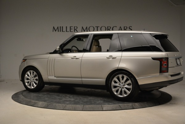 Used 2016 Land Rover Range Rover HSE for sale Sold at Rolls-Royce Motor Cars Greenwich in Greenwich CT 06830 4