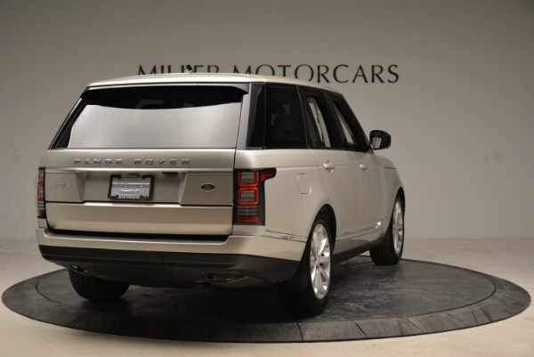Used 2016 Land Rover Range Rover HSE for sale Sold at Rolls-Royce Motor Cars Greenwich in Greenwich CT 06830 7