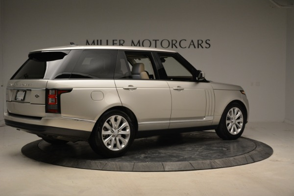 Used 2016 Land Rover Range Rover HSE for sale Sold at Rolls-Royce Motor Cars Greenwich in Greenwich CT 06830 8