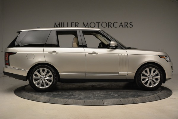 Used 2016 Land Rover Range Rover HSE for sale Sold at Rolls-Royce Motor Cars Greenwich in Greenwich CT 06830 9